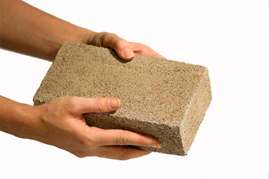 Image of Reusable Bio-Based Bricks For Sustainable Environment.